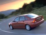 Ford Focus Sedan 1998–2001 wallpapers