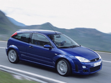 Ford Focus RS 2002–03 wallpapers