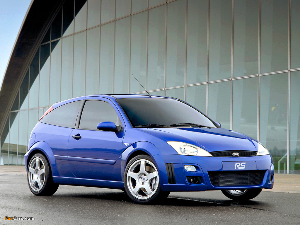 Ford Focus RS 2002–03 wallpapers (1024 x 768)