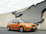 Ford Focus ST 3-door 2005–07 wallpapers