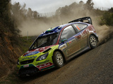 Ford Focus RS WRC 2008–10 wallpapers