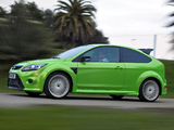 Ford Focus RS 2009–10 wallpapers