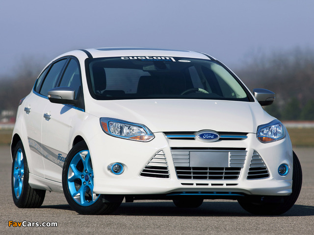 Ford Focus Vehicle Personalization Concept 2010 wallpapers (640 x 480)