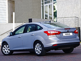 Ford Focus Sedan ZA-spec 2011 wallpapers