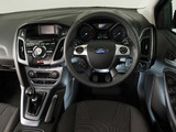 Ford Focus Titanium UK-spec (DYB) 2011–14 wallpapers