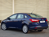 Ford Focus Sedan ZA-spec 2011 wallpapers
