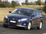 Ford Focus 5-door AU-spec 2011 wallpapers