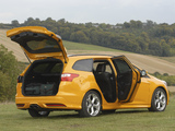 Ford Focus ST Wagon UK-spec 2012 wallpapers