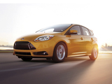 Ford Focus ST US-spec 2012 wallpapers