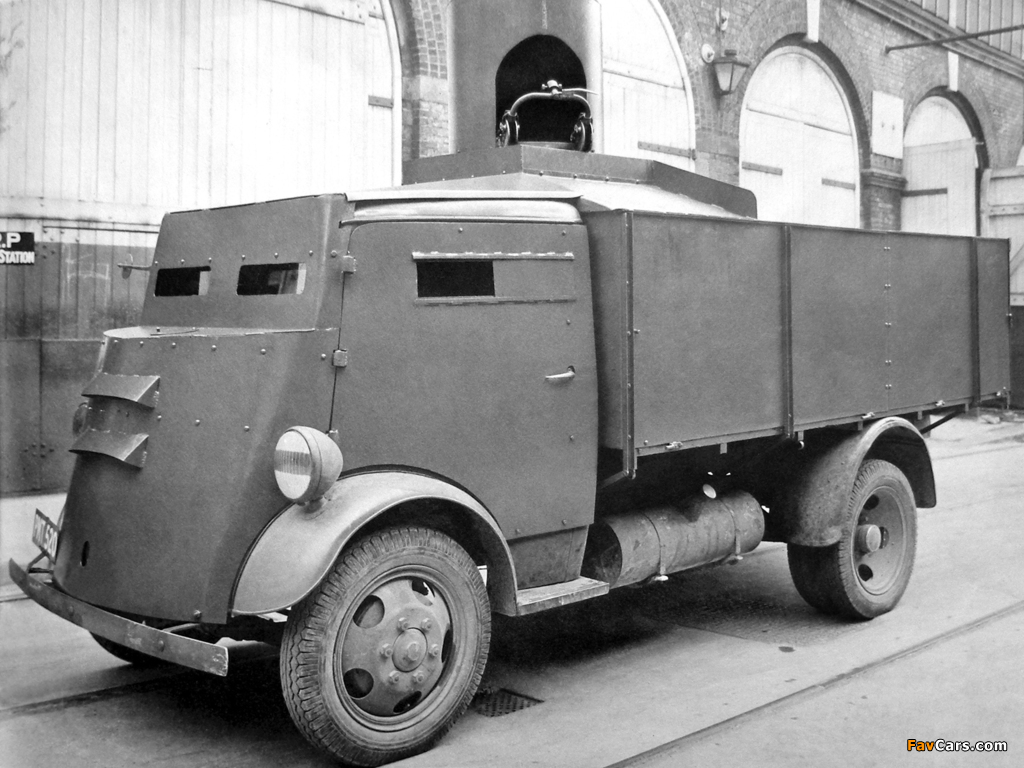 Fordson 7V Armoured Cab 1937–47 wallpapers (1024 x 768)