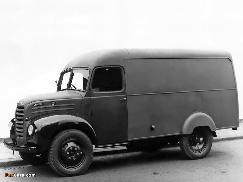 Images of Fordson Thames ET6 Van 1947–57 (800 x 600)