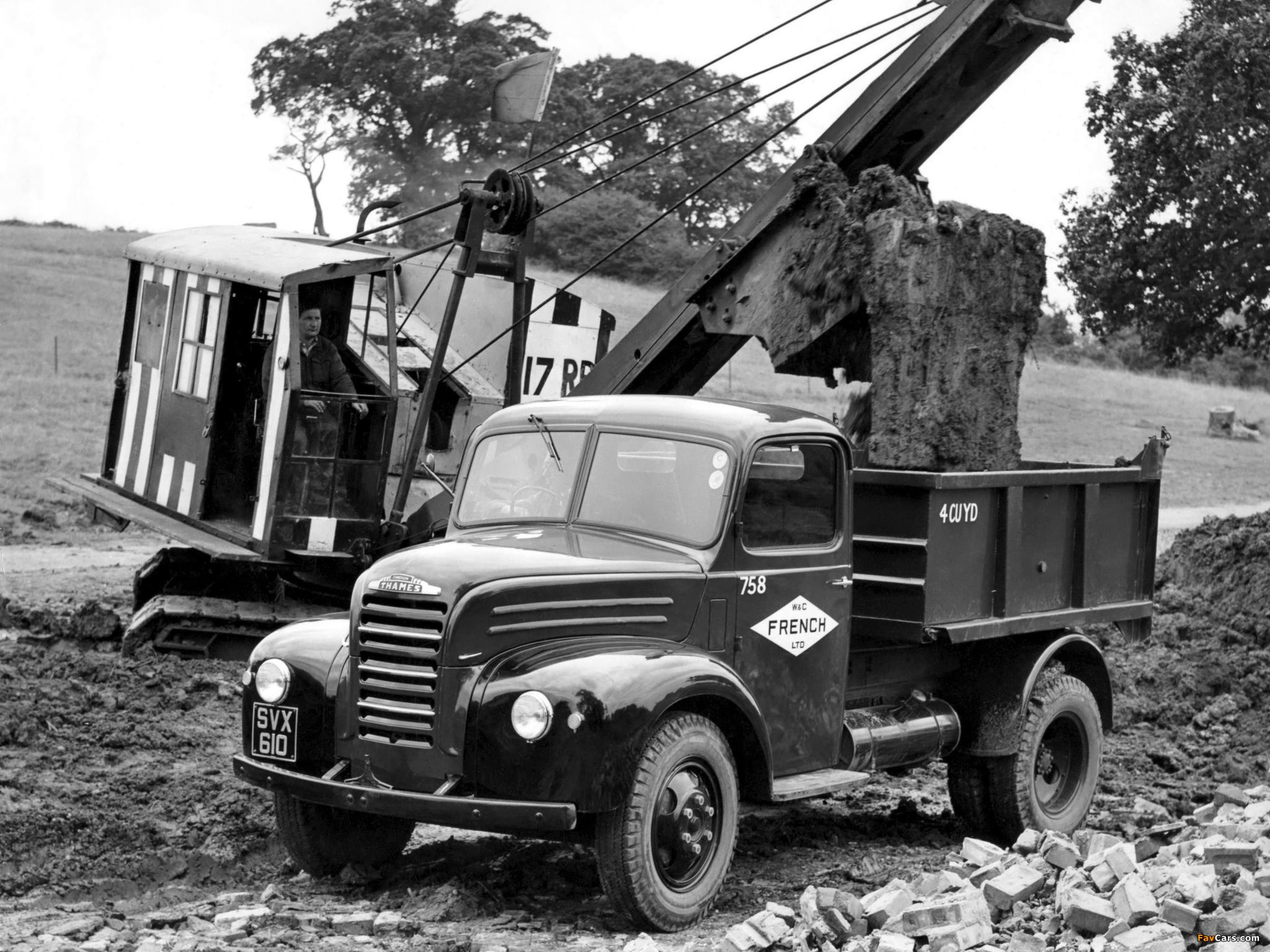 Photos of Fordson Thames ET6 1947–57 (2048 x 1536)