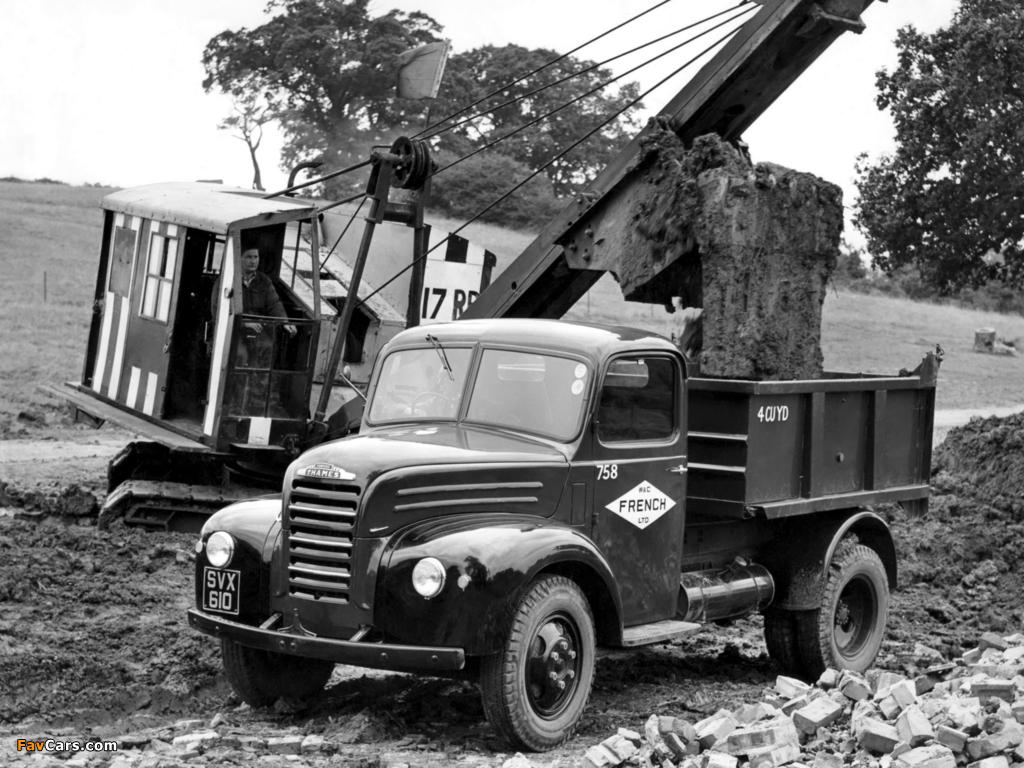 Photos of Fordson Thames ET6 1947–57 (1024 x 768)