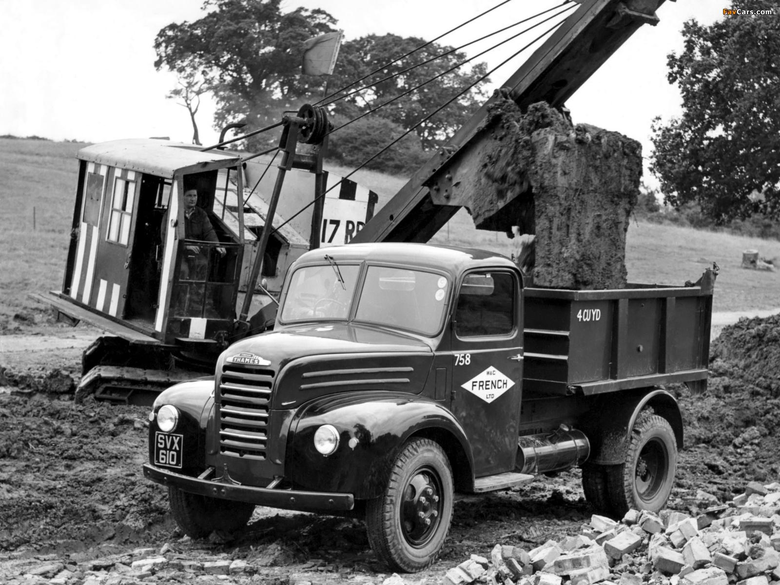 Photos of Fordson Thames ET6 1947–57 (1600 x 1200)