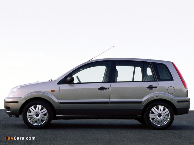 Ford Fusion 2002–05 photos (640 x 480)