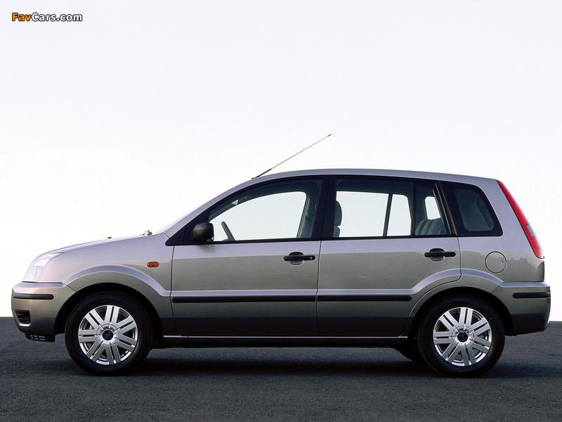 Ford Fusion 2002–05 photos (800 x 600)