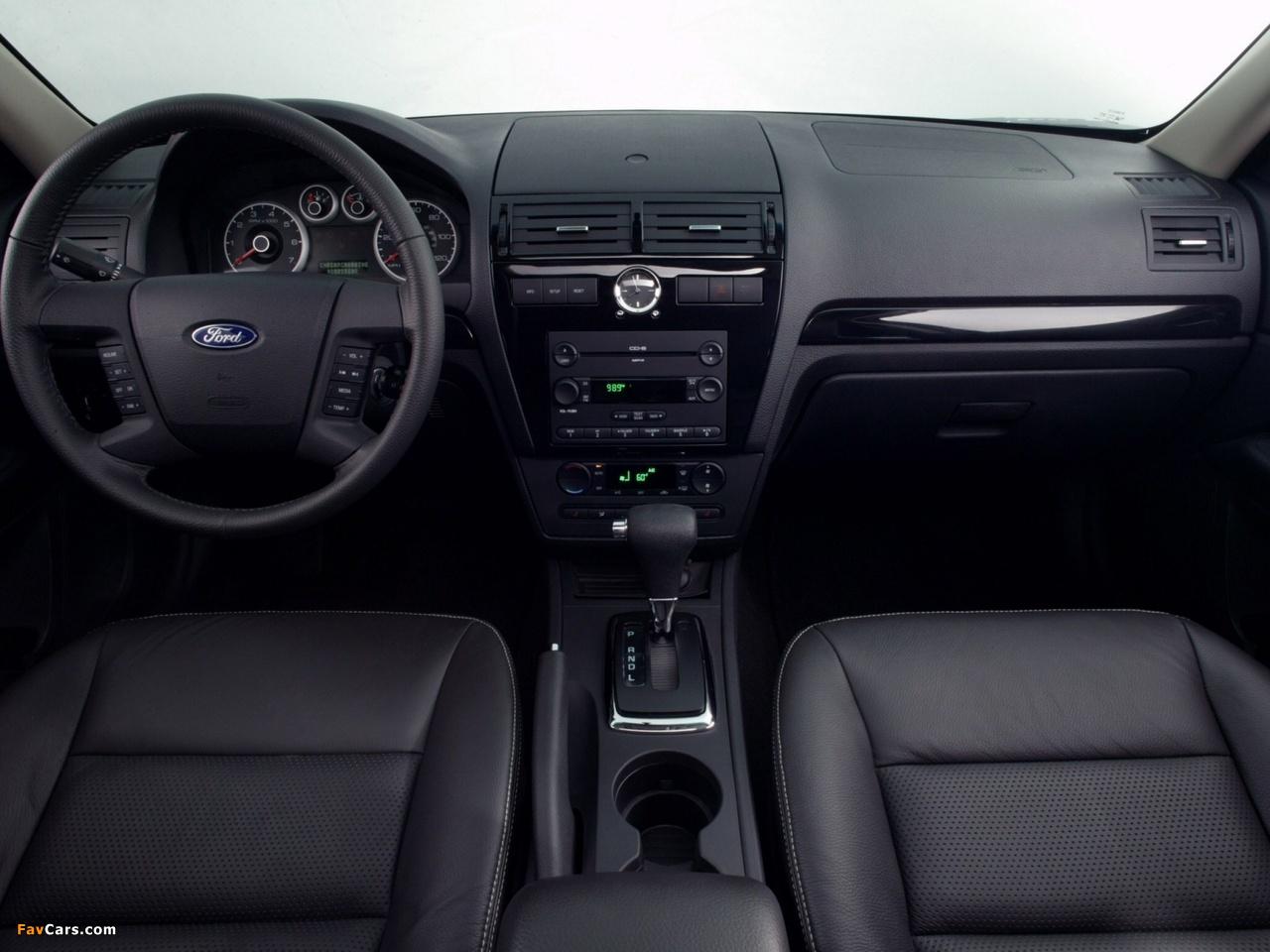 Ford Fusion (CD338) 2005–09 photos (1280 x 960)