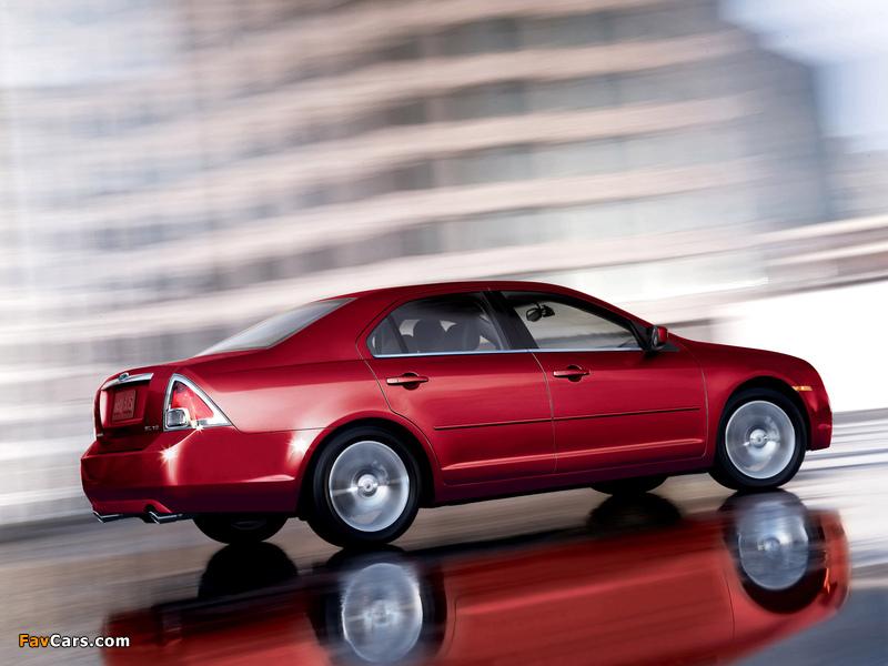 Ford Fusion (CD338) 2005–09 photos (800 x 600)