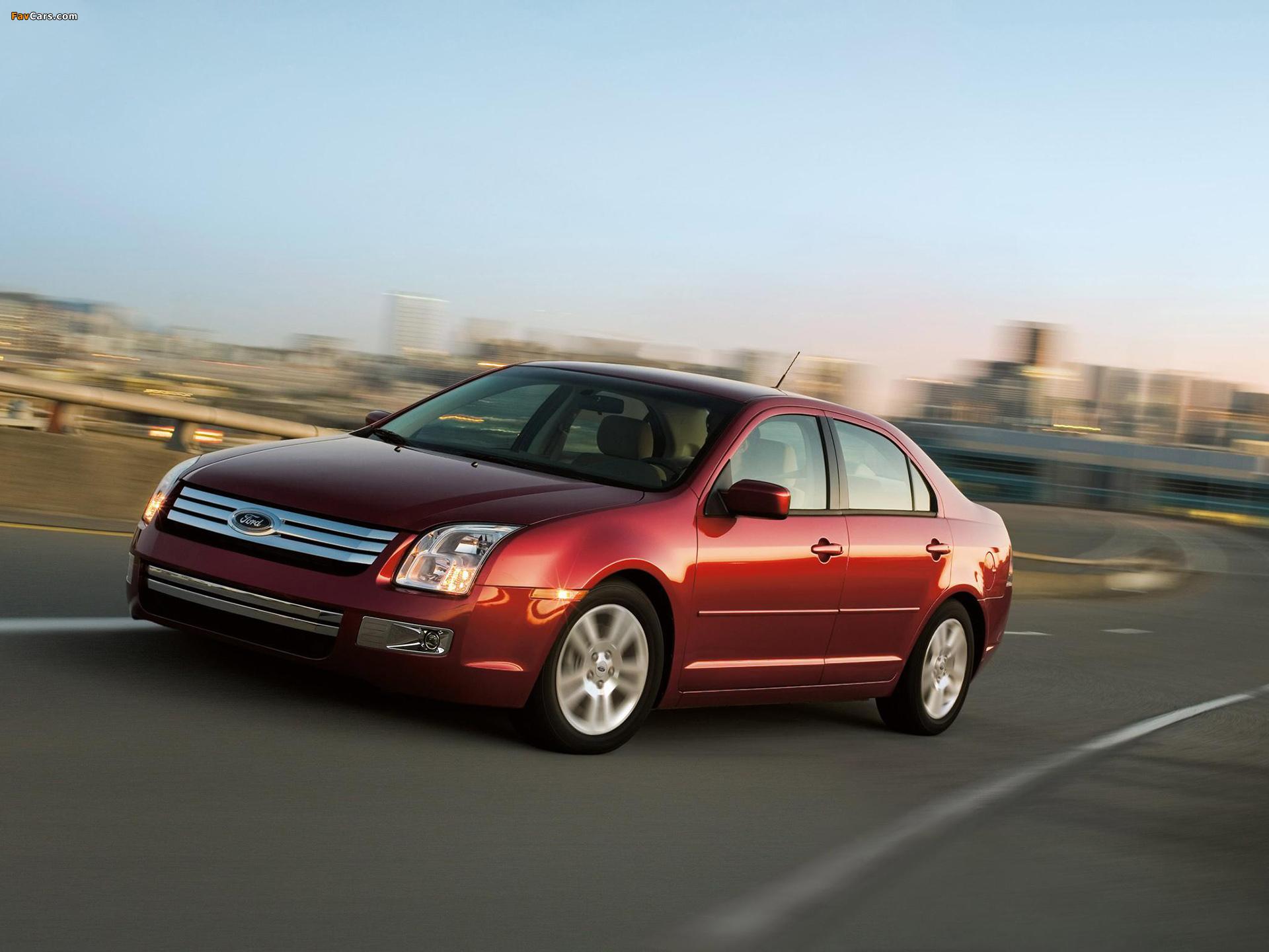 Ford Fusion (CD338) 2005–09 photos (1920 x 1440)
