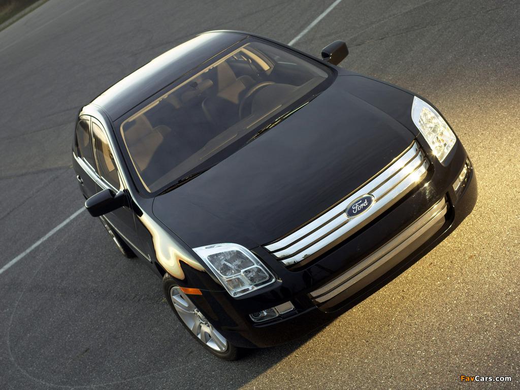 Ford Fusion (CD338) 2005–09 photos (1024 x 768)