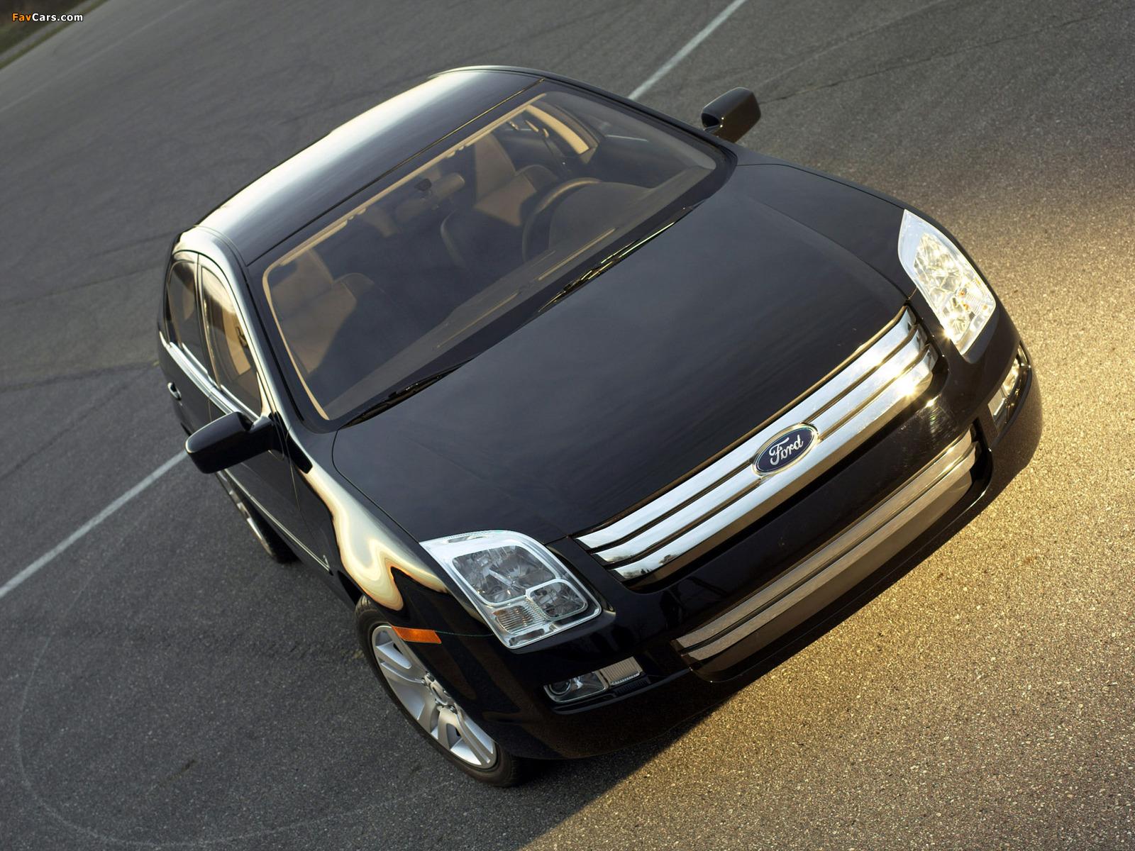 Ford Fusion (CD338) 2005–09 photos (1600 x 1200)