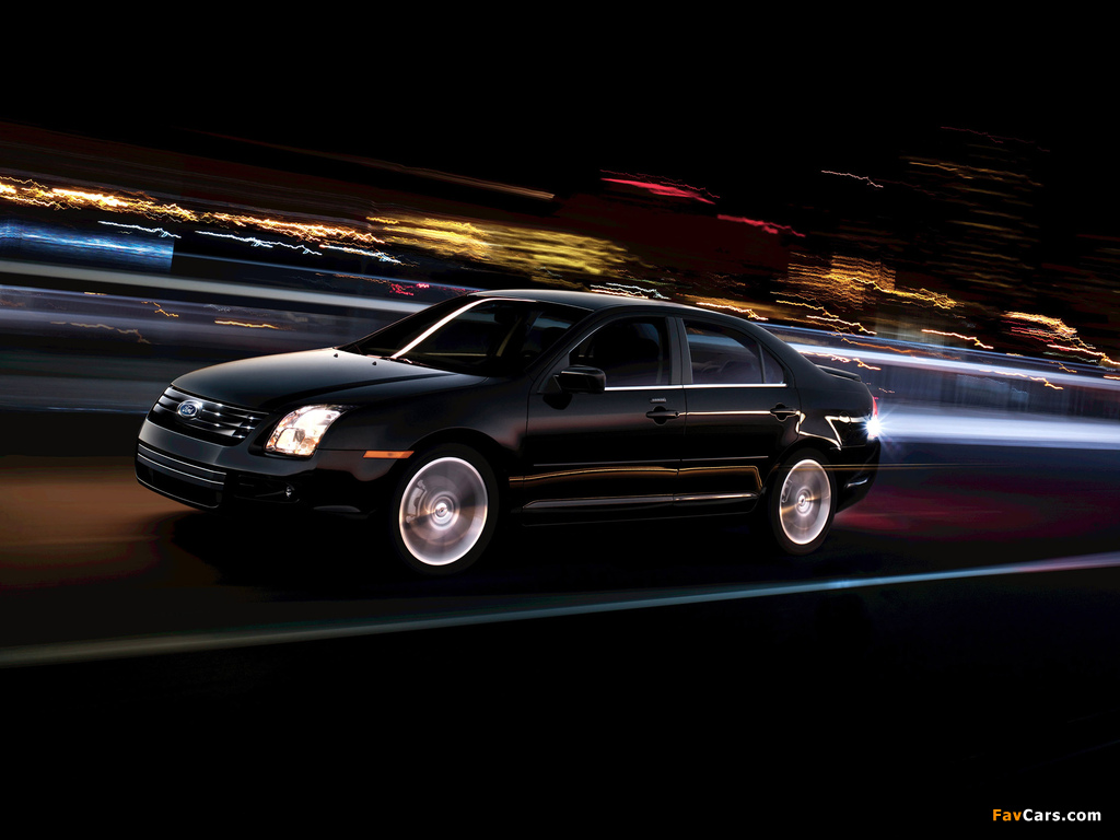 Ford Fusion (CD338) 2005–09 wallpapers (1024 x 768)
