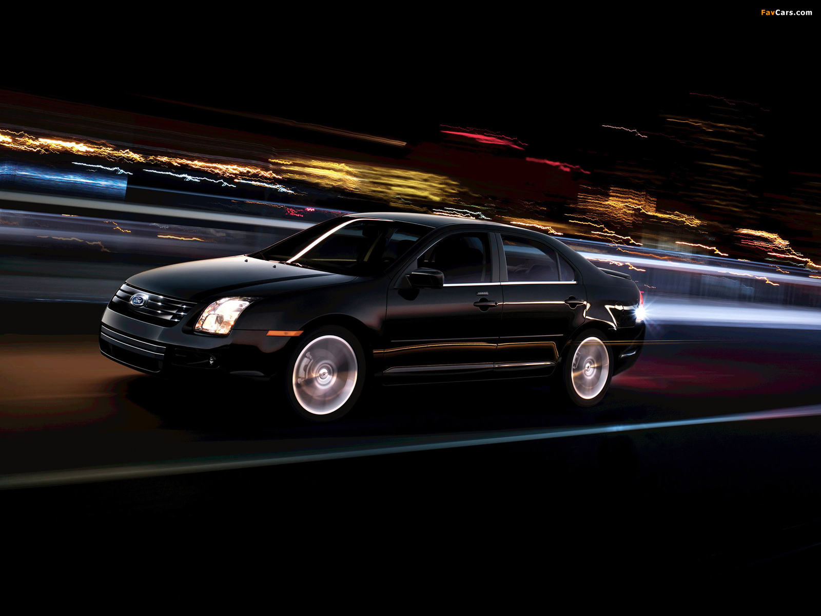 Ford Fusion (CD338) 2005–09 wallpapers (1600 x 1200)