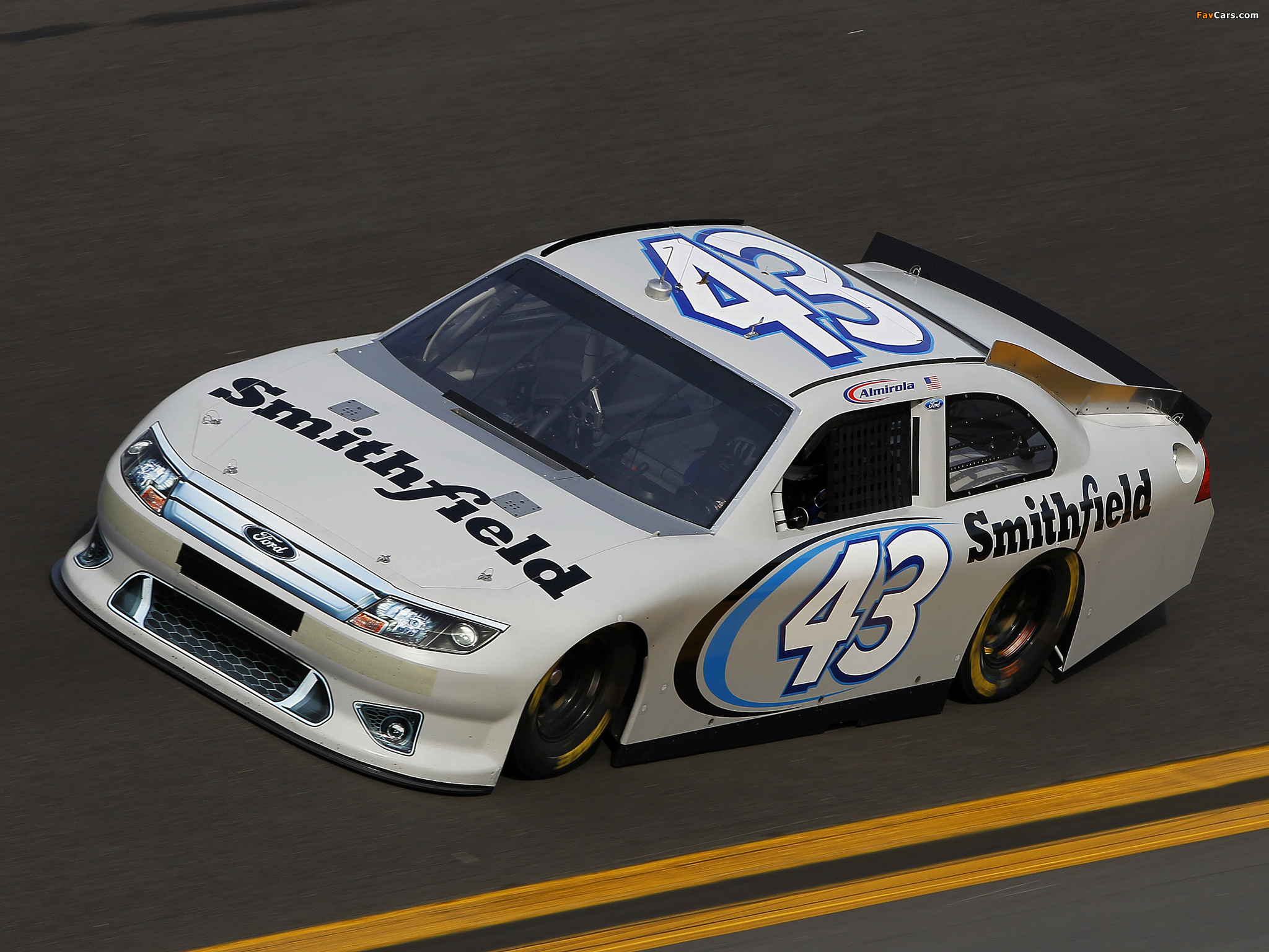 Ford Fusion NASCAR Sprint Cup Series Race Car 2009–12 images (2048 x 1536)