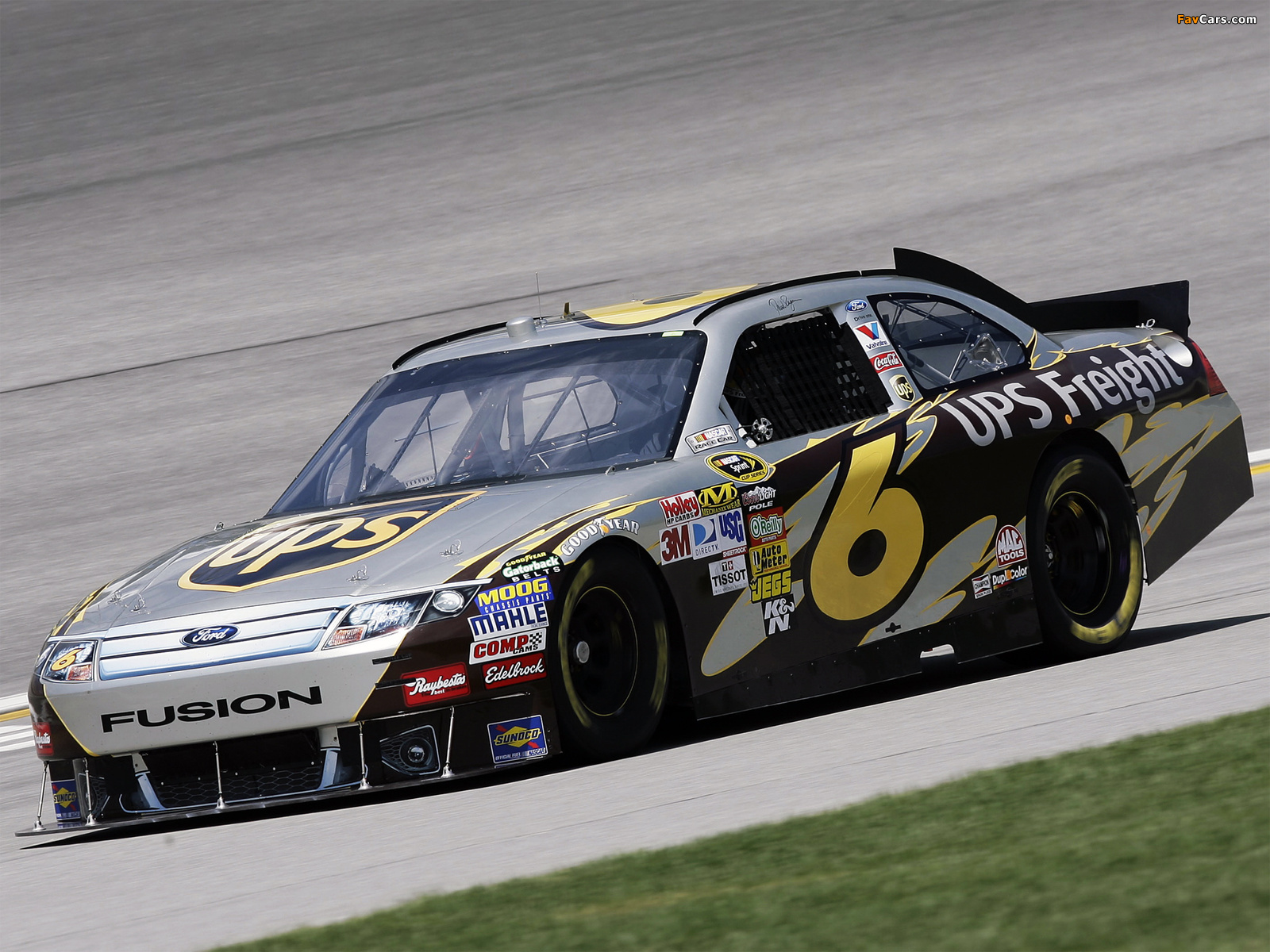 Ford Fusion NASCAR Sprint Cup Series Race Car 2009–12 photos (1600 x 1200)