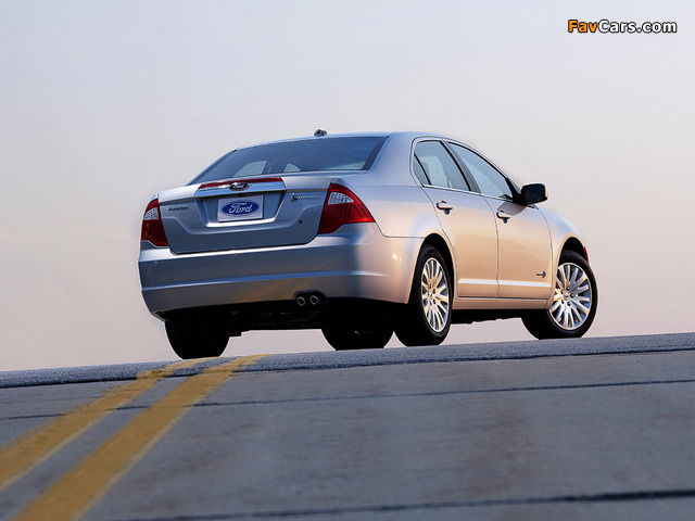 Ford Fusion Hybrid (CD338) 2009–12 pictures (640 x 480)