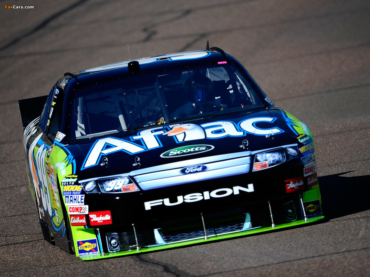Ford Fusion NASCAR Sprint Cup Series Race Car 2009–12 pictures (1280 x 960)