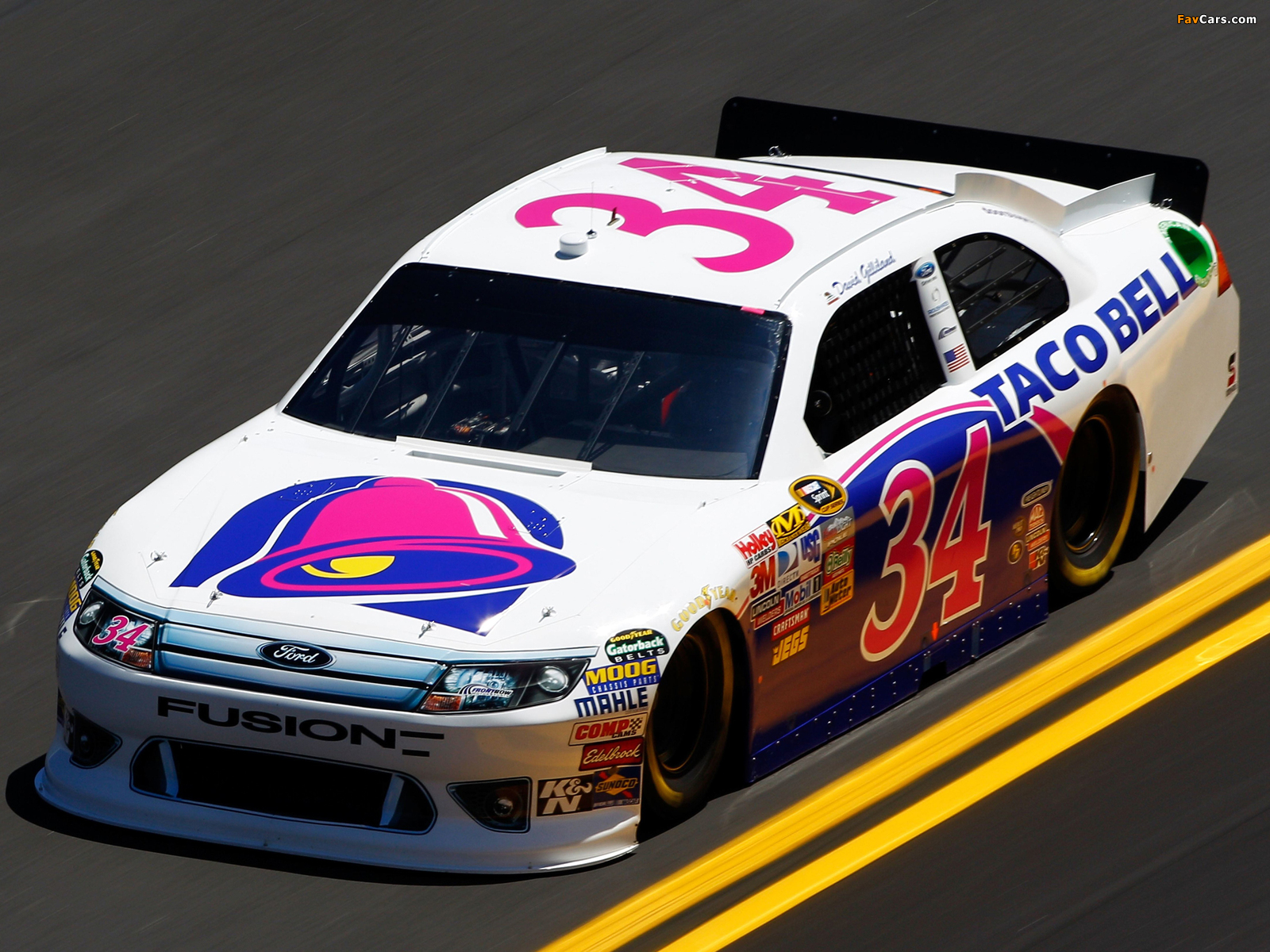 Ford Fusion NASCAR Sprint Cup Series Race Car 2009–12 pictures (1600 x 1200)