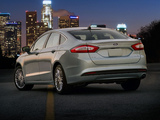 Ford Fusion Hybrid 2012 images