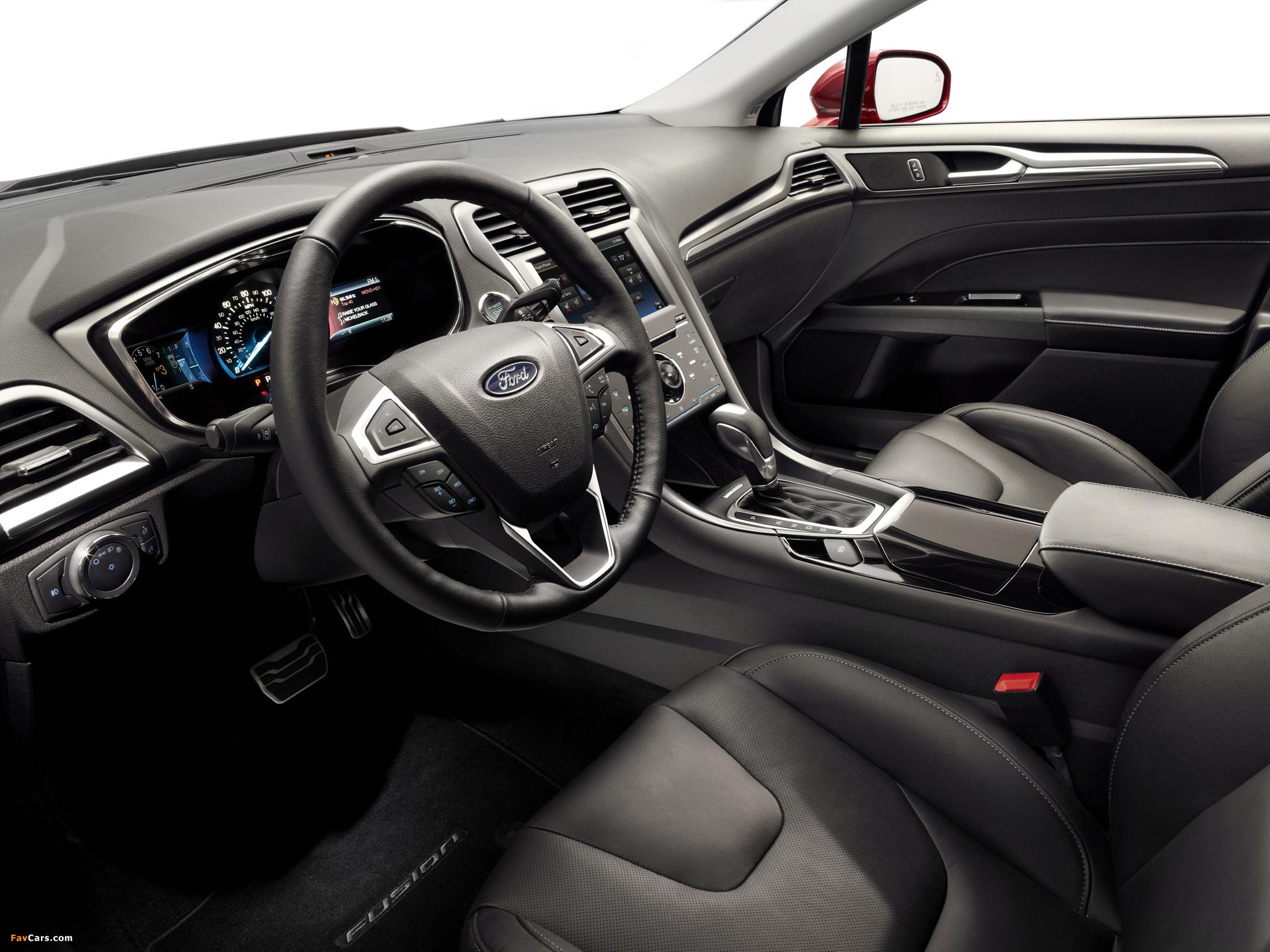 Ford Fusion Titanium 2012 images (2048 x 1536)