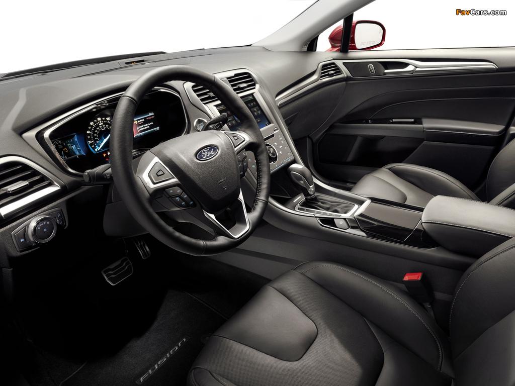 Ford Fusion Titanium 2012 images (1024 x 768)