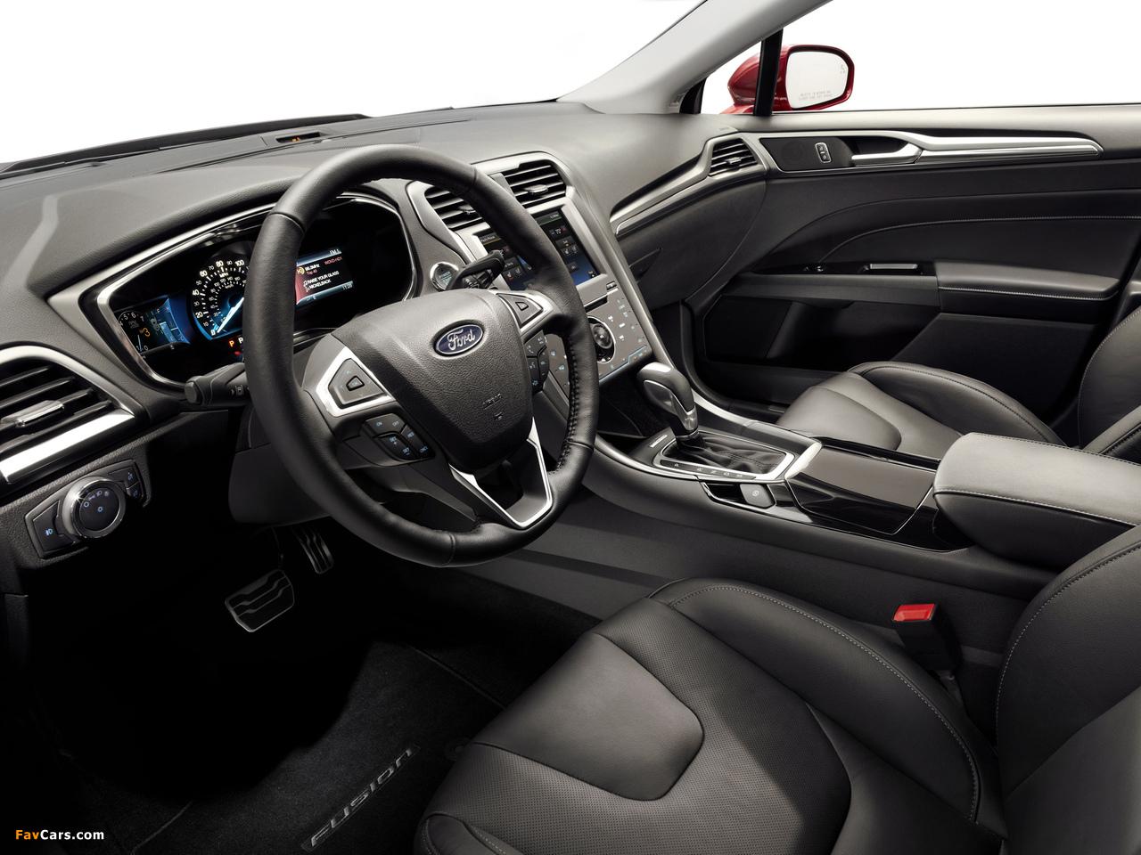Ford Fusion Titanium 2012 images (1280 x 960)