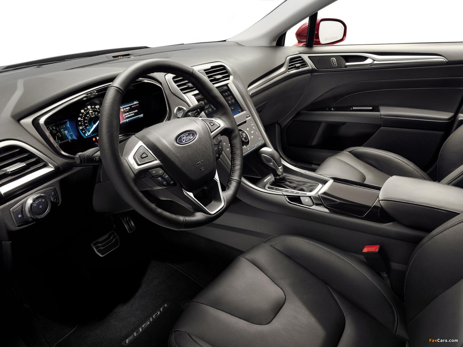 Ford Fusion Titanium 2012 images (1600 x 1200)