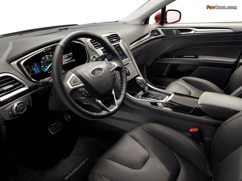Ford Fusion Titanium 2012 images (800 x 600)