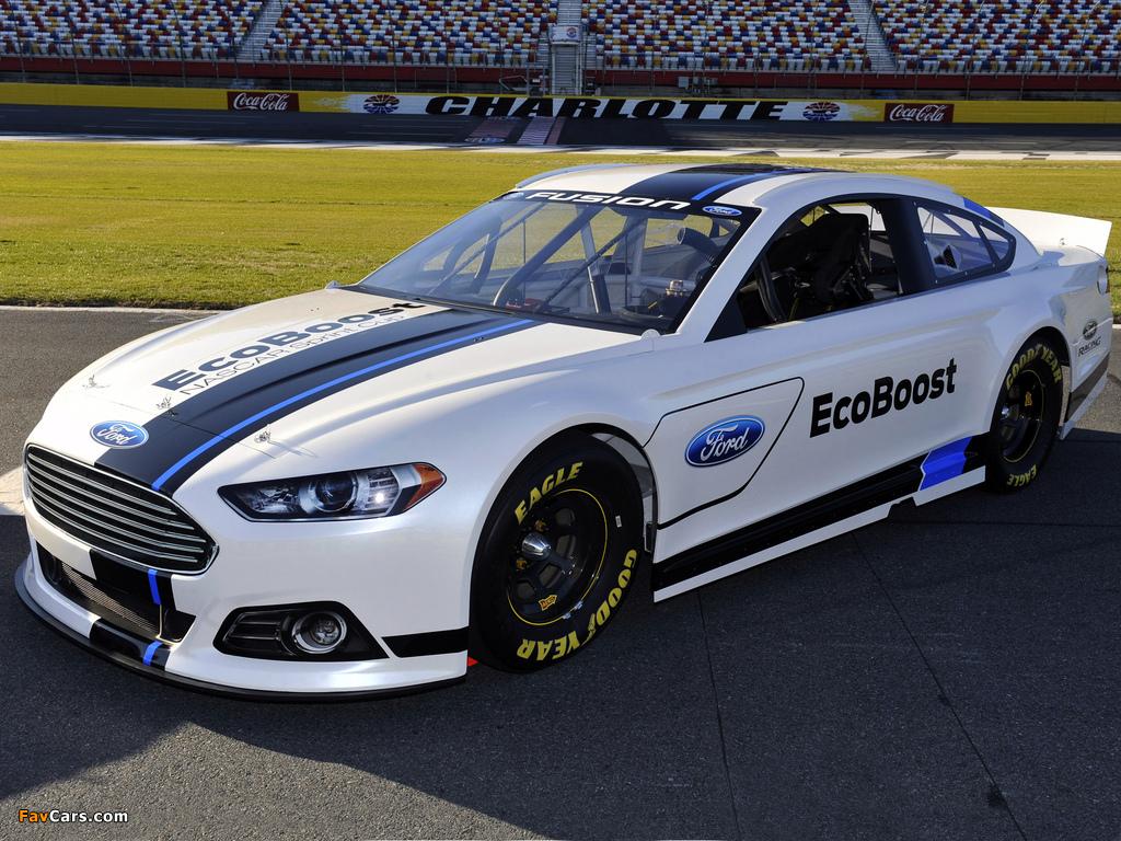 Ford Fusion NASCAR Race Car 2012 photos (1024 x 768)