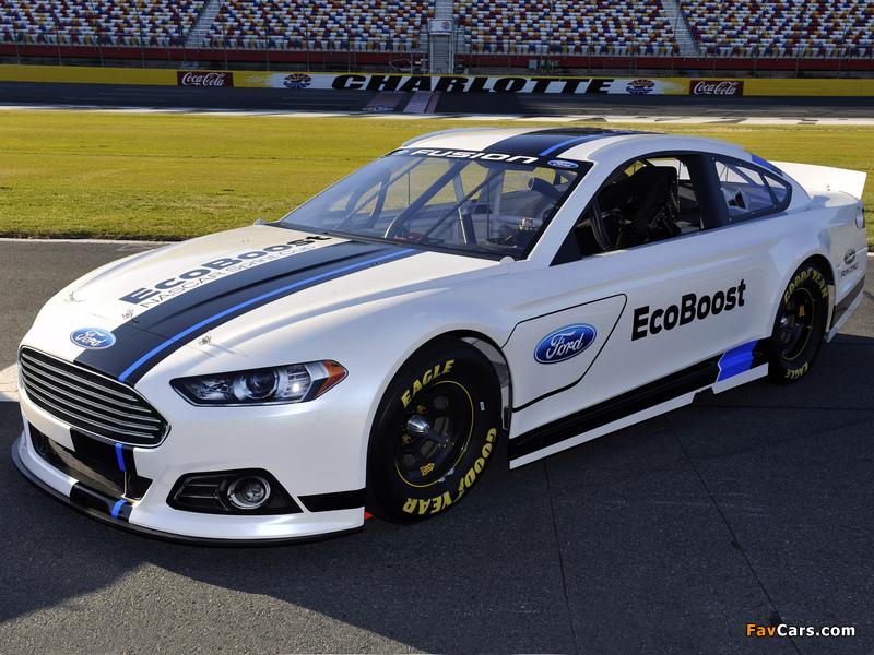 Ford Fusion NASCAR Race Car 2012 photos (800 x 600)