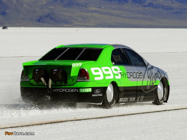 Images of Ford Fusion Hydrogen 999 Land Speed Record Car 2007 (640 x 480)