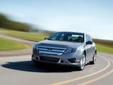 Images of Ford Fusion Hybrid (CD338) 2009–12