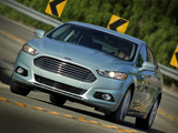 Images of Ford Fusion Hybrid 2012