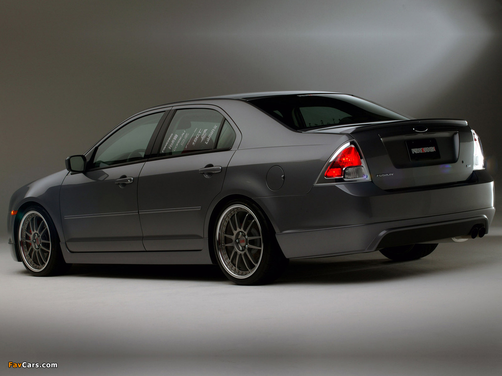 Photos of Ford Fusion by FS Werks (CD338) 2006 (1024 x 768)