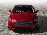 Photos of Ford Fusion Titanium 2012