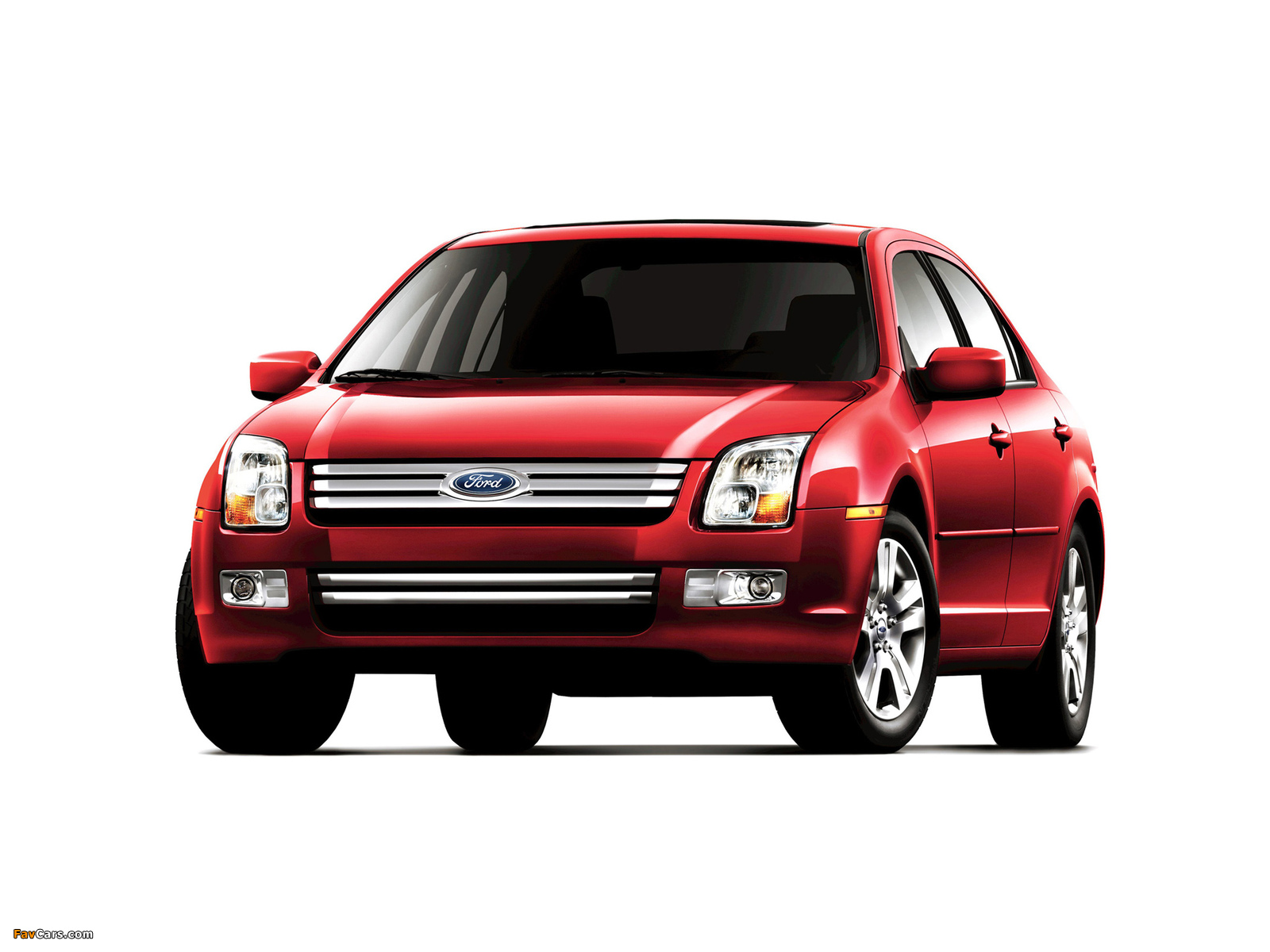 Pictures of Ford Fusion (CD338) 2005–09 (1600 x 1200)
