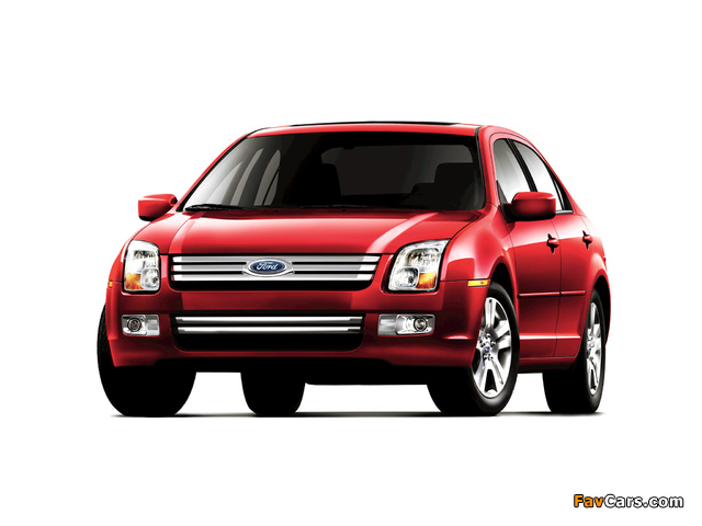 Pictures of Ford Fusion (CD338) 2005–09 (640 x 480)