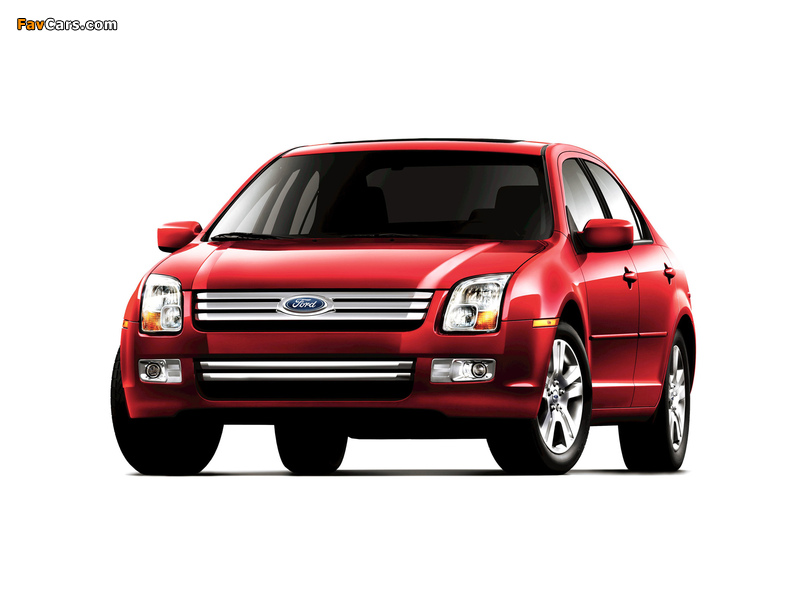 Pictures of Ford Fusion (CD338) 2005–09 (800 x 600)