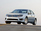 Pictures of Ford Fusion Hybrid (CD338) 2009–12