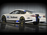 Pictures of Ford Fusion NASCAR Race Car 2012